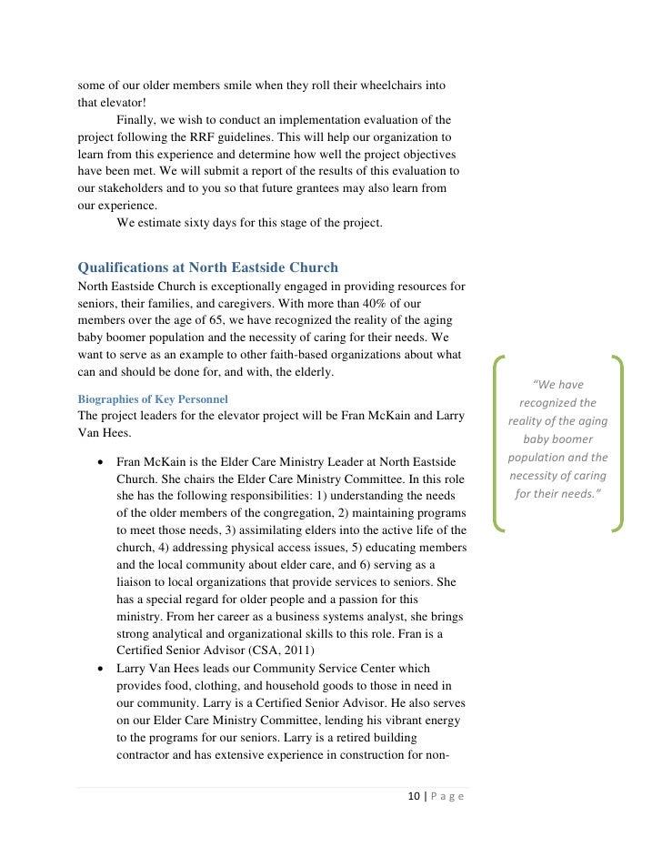 Ministry Proposal Letter Template Romeondinez