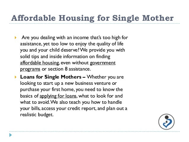 housing for single parents australia In australia, the national affordable housing summit group developed their definition of affordable housing as housing that single-parent families.