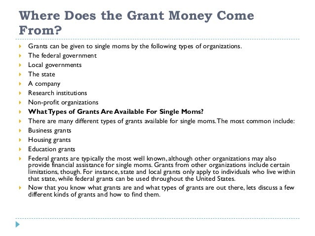 Grants for Single Hispanic Mothers