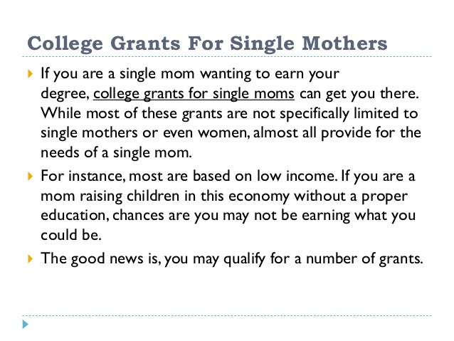 single parent grants in texas While paying for school in this day and age can be challenging for any demographic group, single mothers are in a class of their own when it comes to grant support for higher education single mothers eligibility is extended to arkansas residents, as well as those living in bowie, texas (within miller county, ar) bernice.
