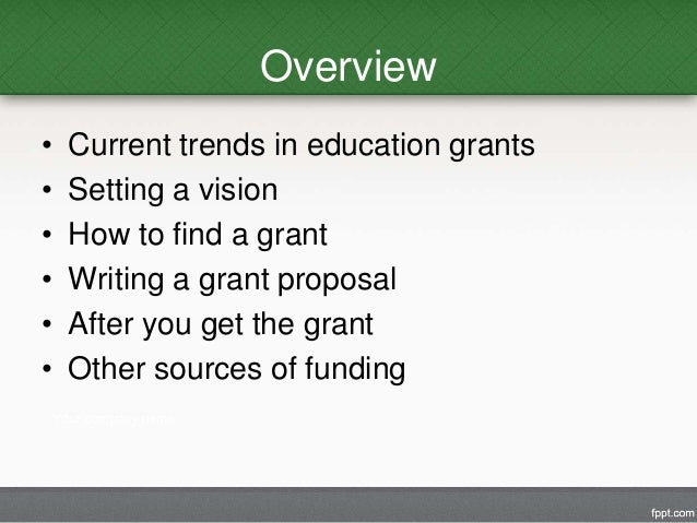 how to get grant money