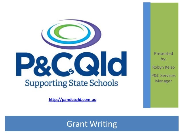 Grant writing webinar