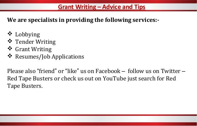 Grant writers services qld