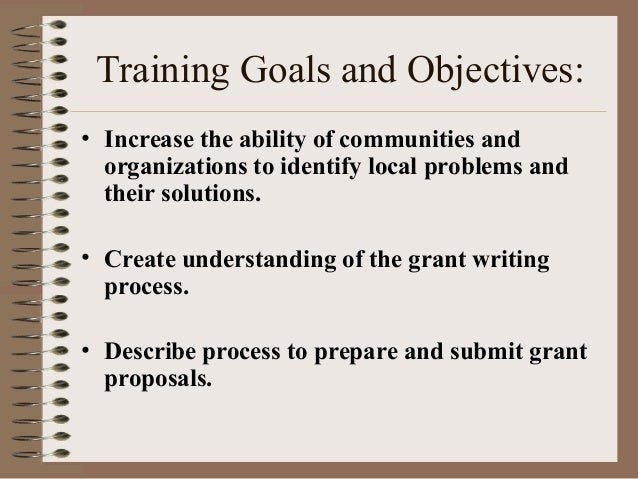 grant writing basics Grant writing 5-part workshop february 2, 9, 16, 23 and march 2 (f), 10-12 pm do you need money for your project or nonprofit program but don't know where to start.