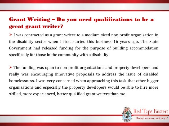 grant writing contract sample