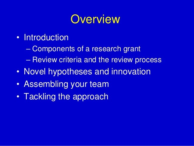 2740d2267f Writing a Compelling Grant to Fund Your Research