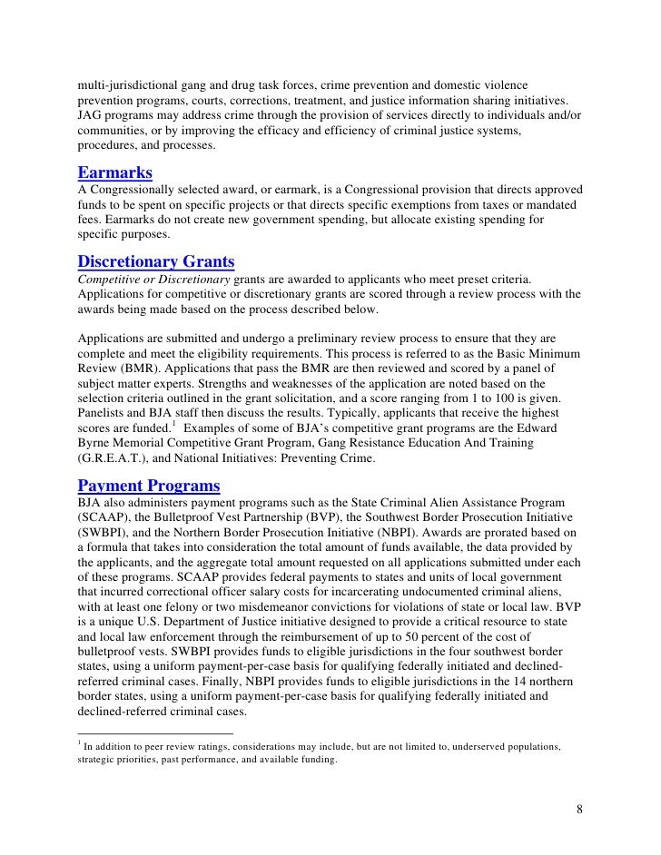 grants management policies and procedures manual