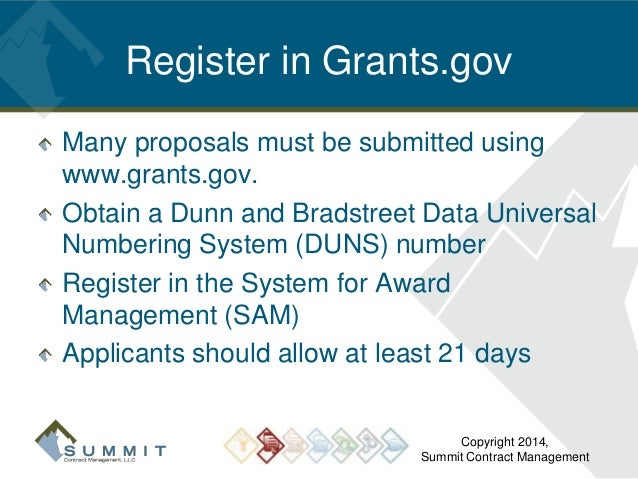 writing a grant proposal for small business