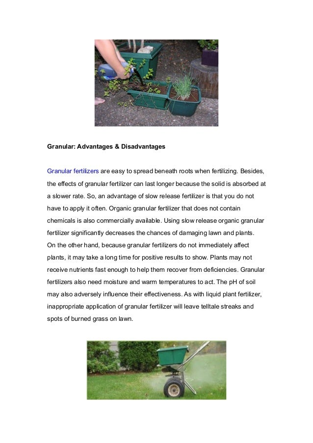 Granular fertilizer or liquid fertilizer how to choose