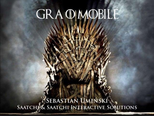Gra o mobile   relacja klient-agencja
