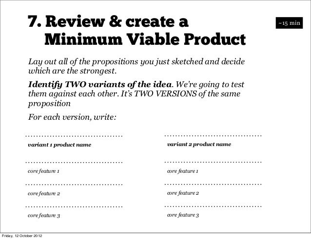 8. Landing page split test                          Now we're going to create TWO versions of a page like this            ...
