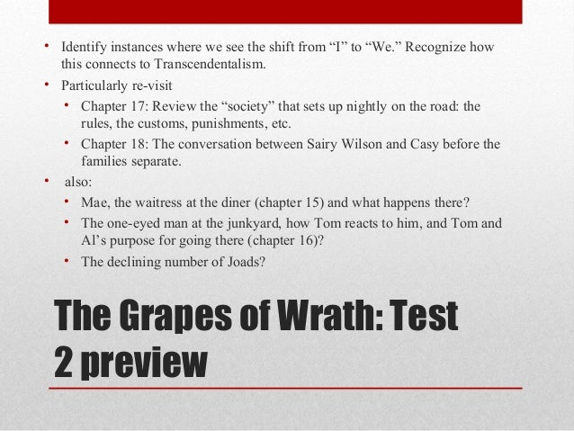 the grapes of wrath chapter 18