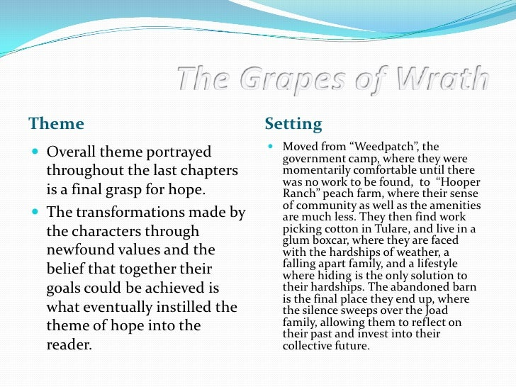 grapes of wrath chapter 30 (chapter 30) nothing in the grapes of wrath outraged readers as did the scene in chapter 30 where rose of sharon offers her breast to.