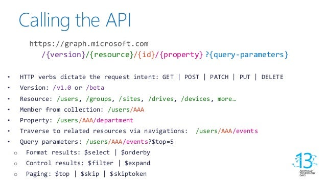 ATD 13 - Enhancing your applications using Microsoft Graph API