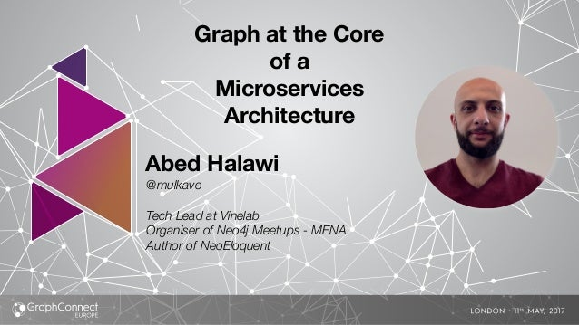 Abed Halawi @mulkave Tech Lead at Vinelab Organiser of Neo4j Meetups - MENA Author of NeoEloquent Graph at the Core of a M...