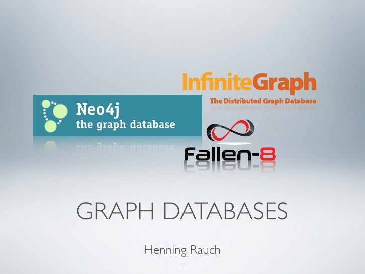 GRAPH DATABASES    Henning Rauch          1