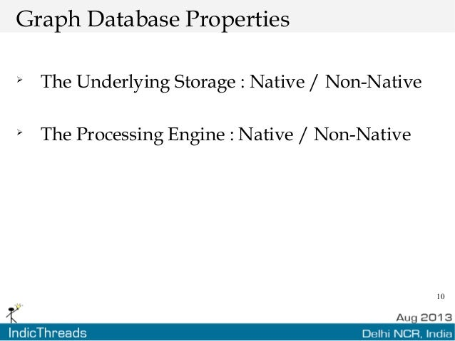 10 Graph Database Properties  The Underlying Storage : Native / Non-Native  The Processing Engine : Native / Non-Native