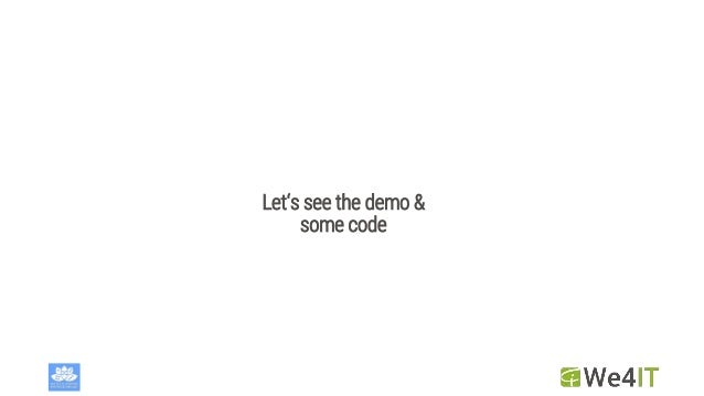 Let's see the demo & some code