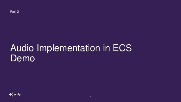 ECS: Graph Driven Audio in an ECS World