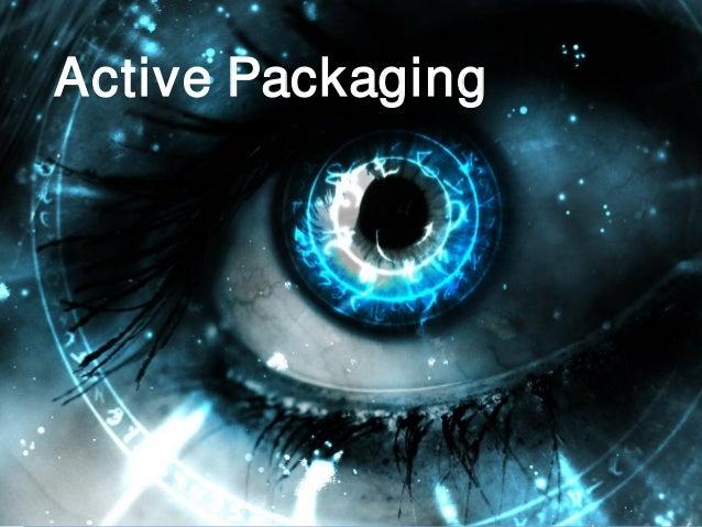 © Printing Industries of America   www.printing.org 12 Active Packaging