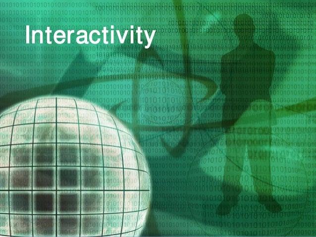 © Printing Industries of America   www.printing.org 28 Interactivity