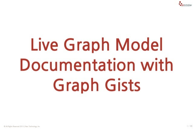 Interactive Graph Model Documents with Neo4j Graphgists