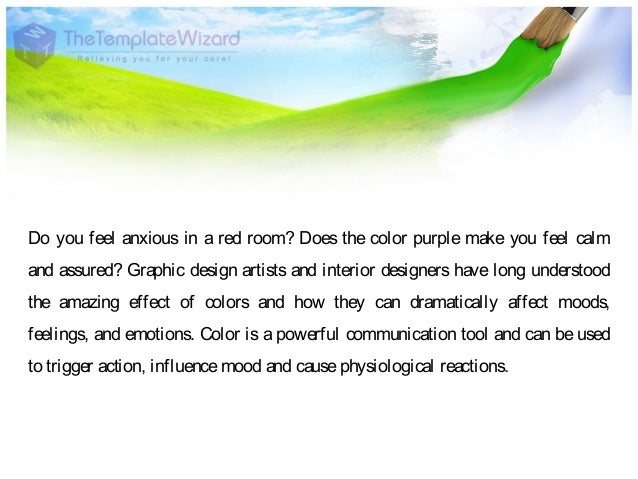 What Does The Color Red Make You Feel graphic designing psychology of color