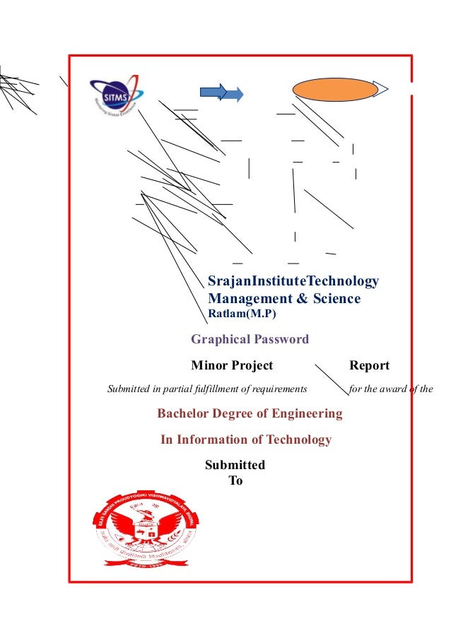 SrajanInstituteTechnology Management & Science Ratlam(M.P) Graphical Password Minor Project Report Submitted in partial fu...