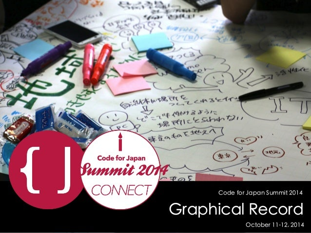 Code for Japan Summit 2014  Graphical Record  October 11-12, 2014
