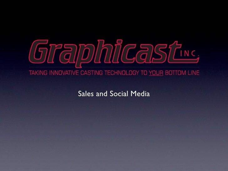 Sales and Social Media