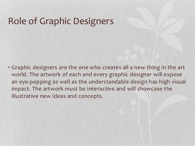 Graphic design – Responsibilities of a Graphic Designer