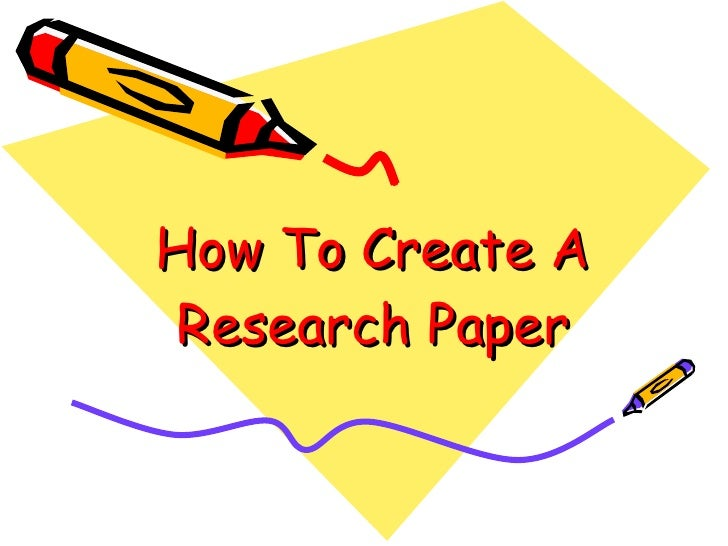 how to create a bibliography for a research paper How do i create an annotated bibliographyhow do i before you can create your annotated bibliography you to your paper, how it will help your research and.