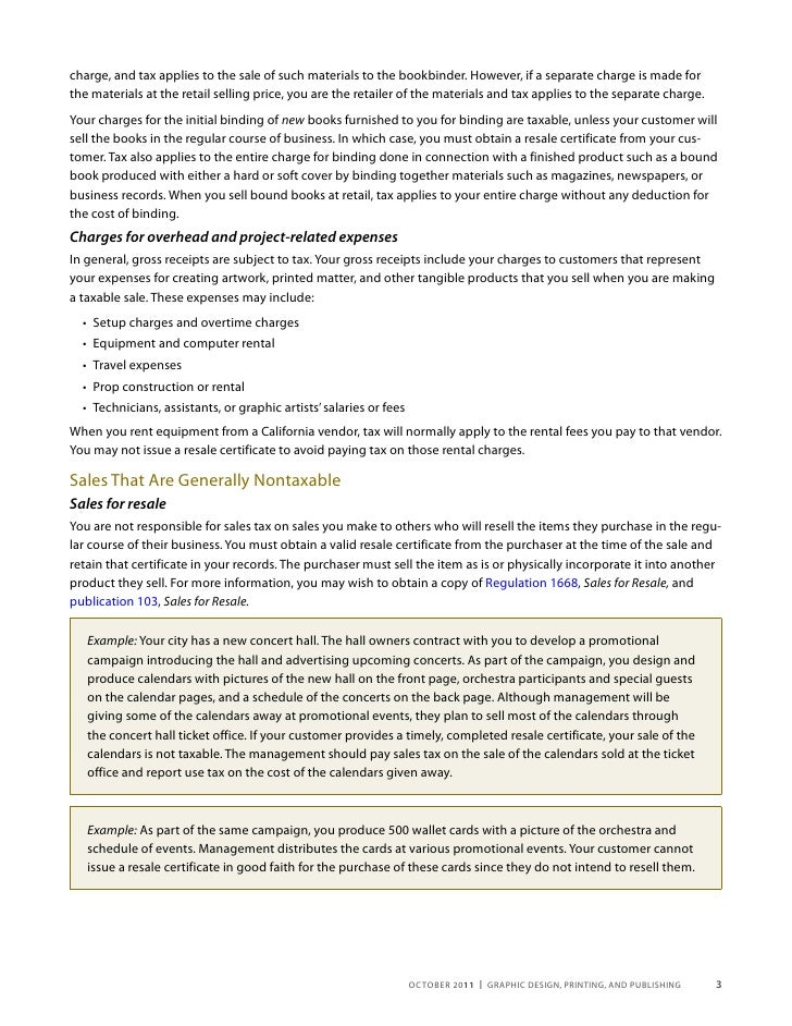 Free Professional Resume California Resale Certificate Form