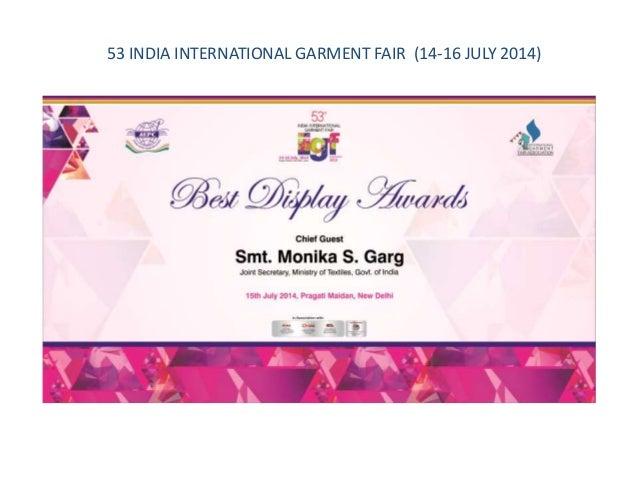 Graphic branding designs by deepak singh nift 53 india international garment fair 14 16 july 2014 stopboris Images