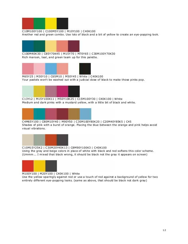 Graphic Design Colors