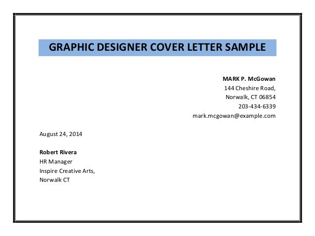sample creative cover letter