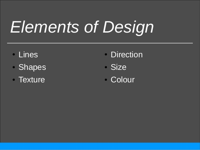 Intro to Graphic Design Elements