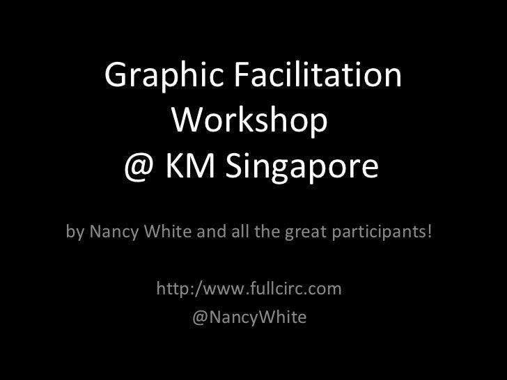 Graphic Facilitation        Workshop     @ KM Singapore 2012by Nancy White and all the great participants!           http:...