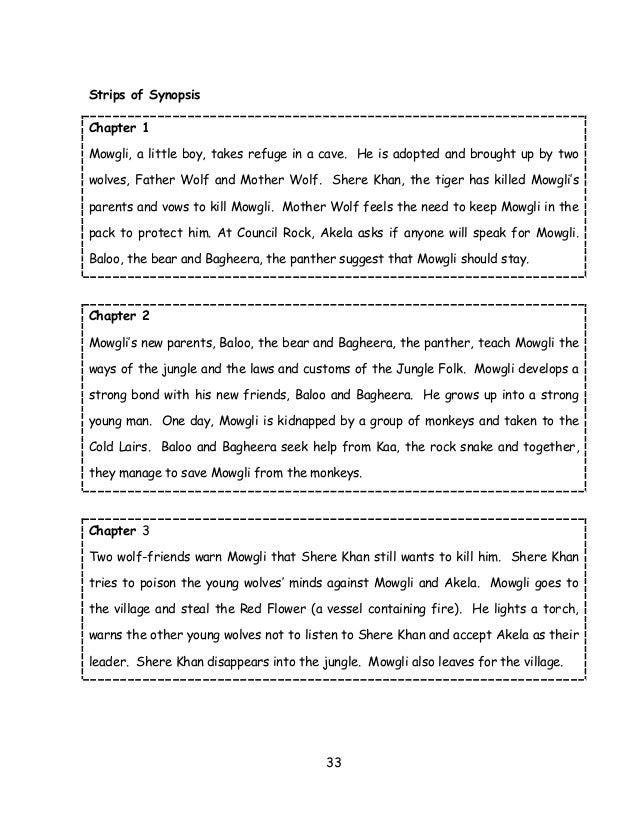The jungle book novel summary
