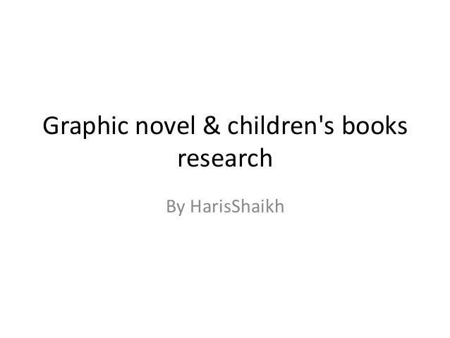 Graphic novel & children's books research By HarisShaikh