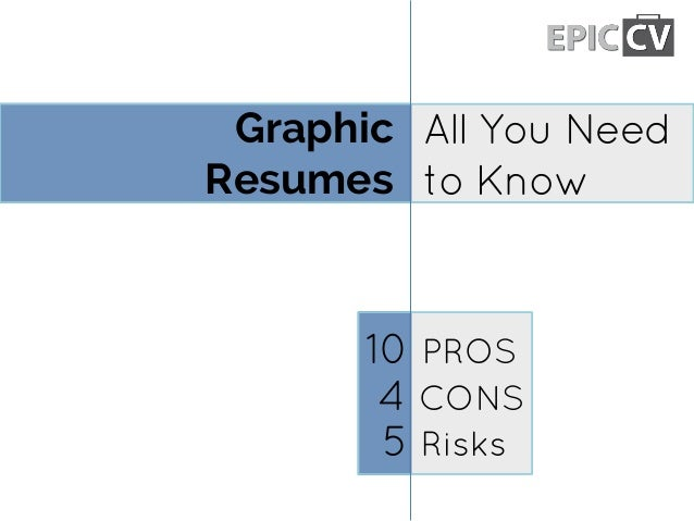 Graphic Resumes All You Need to Know 4 CONS 5 Risks 10 PROS