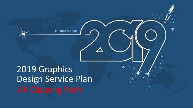 2019 Graphics Design Service Plan Business Plan UK Clipping Path