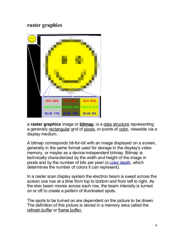 display technologies in computer graphics pdf