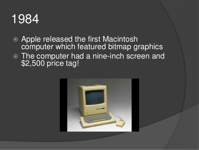 Graphics history powerpoint