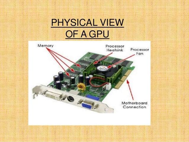 PHYSICAL VIEW OF A GPU
