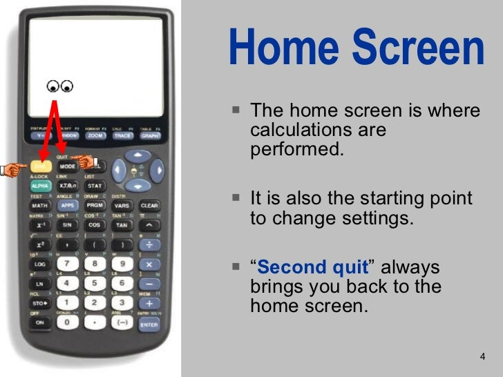 how to clear a graphing calculator