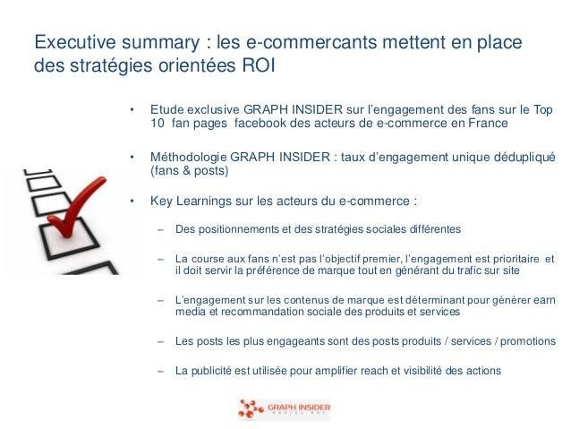 Graph insider ecommerce france social analytics octobre 2012 Slide 2