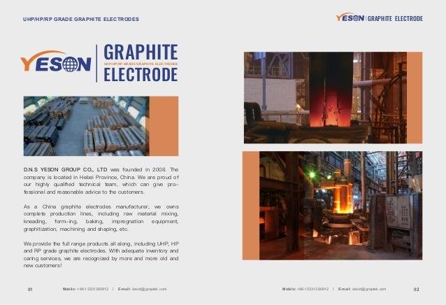 Yeson graphite electrode Slide 2