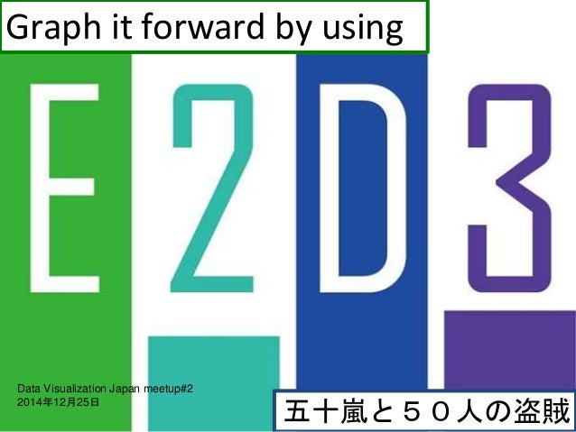 五十嵐と50人の盗賊 Graph it forward by using Data Visualization Japan meetup#2 2014年12月25日