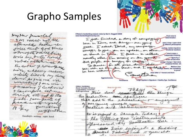 research paper on graphology Handwriting analysis students will find this website dedicated to graphology very helpful full information on handwriting analysis courses, books is given.